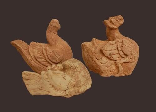 Tại công trình kiến trúc cổ phát hiện nhiều di vật từ đất nung