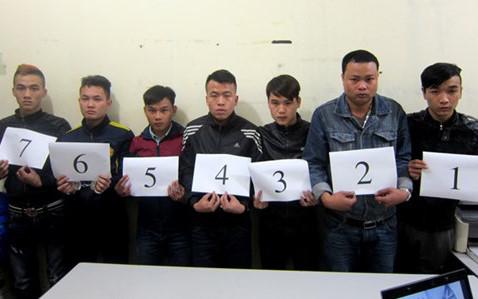 7 đối tượng bắt giữ người trái pháp luật
