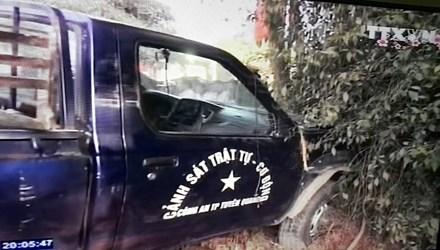 Trong những tin tức pháp luật mới nhất hôm nay có vụ xe cảnh sát đâm chết người đi bộ