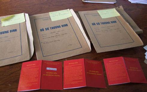 Những tin tức pháp luật mới nhất hôm nay đề cập đến tình trạng làm giả hồ sơ thương binh