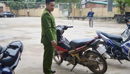Xe máy Exciter bị Niềm lấy trộm