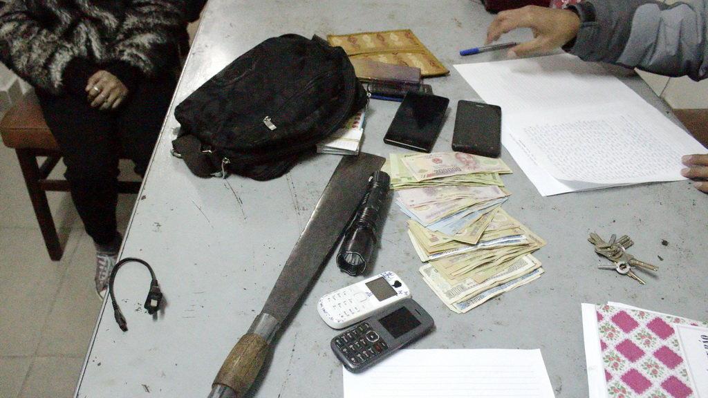 Các tang vật của nhóm cướp nhí bị thu giữ, theo những tin tức pháp luật mới nhất hôm nay