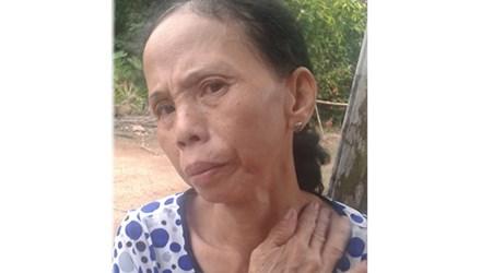 Bà Bé bị chính con trai nuôi dùng dao uy hiếp để vòi tiền trả nợ