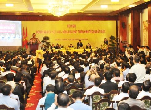 tin tức thời sự 24h ngày 30/4 đề cập đến việc Hội nghị đối thoại giữa thường trực Chính phủ và cộng đồng doanh nghiệp