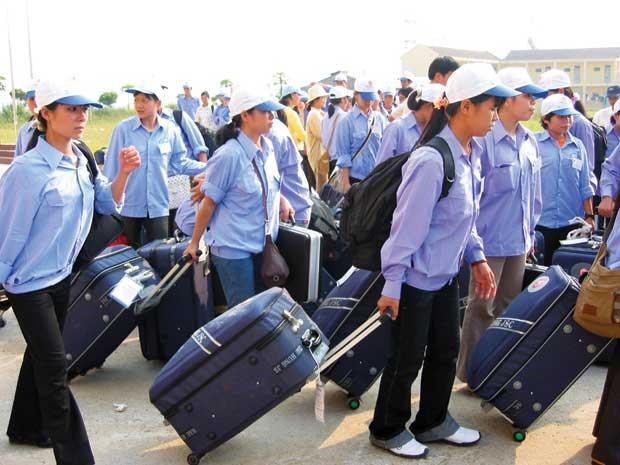 Nền kinh tế phát triển nhanh chóng đòi hỏi một lượng lao động nước ngoài lớn ở Hàn Qu