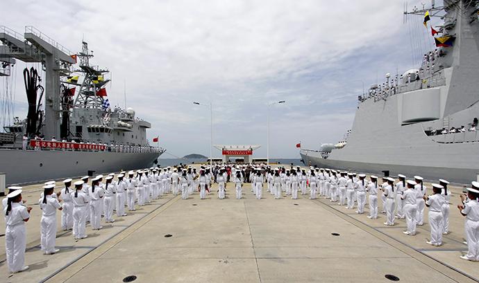 Thủy thủ Trung Quốc tham gia cuộc tập trận RIMPAC