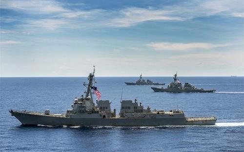 Các nước trong và ngoài khu vực khẳng định sẽ nỗ lực hết sức để đảm bảo tình hình Biển Đông hòa bình và ổn định