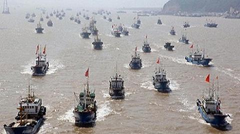 tình hình Biển Đông hôm nay ngày 4/8: Hàng vạn tàu cá Trung Quốc tràn ngập Biển Đông