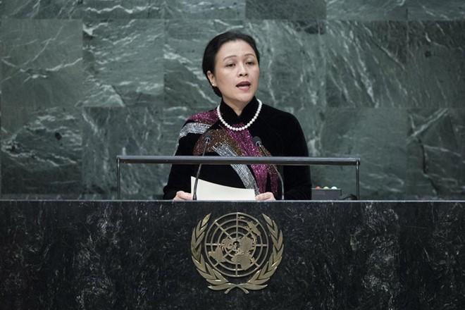 Đại sứ Nguyễn Phương Nga kêu gọi các bên ngừng phức tạp hóa tình hình Biển Đông