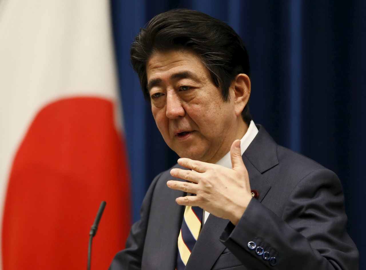 Thủ tướng Nhật Bản Shinzo Abe chỉ trích việc Trung Quốc liên tục khiến tình hình Biển Đông thêm căng thẳng