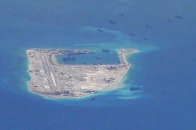 Hoạt động xây đảo trái phép của Trung Quốc khiến tình hình Biển Đông liên tục tăng nhiệt