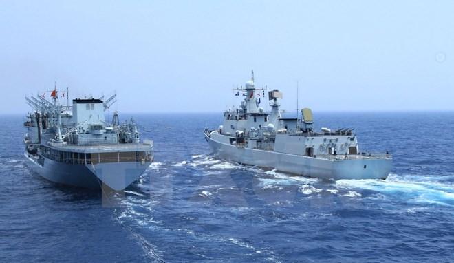 Trung Quốc, Malaysia bắt đầu cuộc tập trận chung gần khu vực Biển Đông