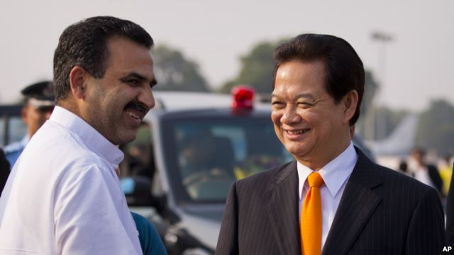 Ấn Độ bày tỏ sự ủng hộ đối với lập trường gìn giữ hòa bình, ổn định ở Biển Đông của Việt Nam