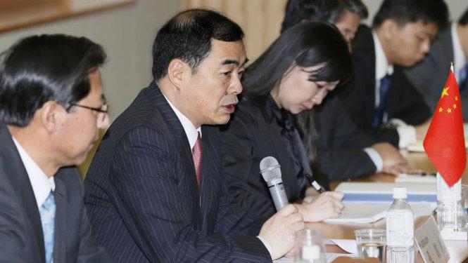 Trợ lý Ngoại trưởng Trung Quốc Khổng Huyễn Hựu được cho là 'nhắc khéo' Nhật Bản không đưa tình hình Biển Đông tới G7