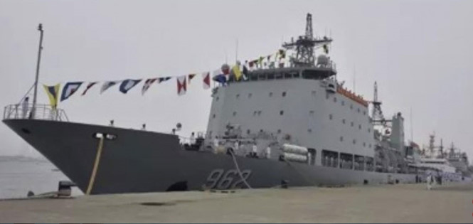 Tàu tiếp tế Lô Cô Hồ thuộc Hạm đội Nam Hải sẽ được Trung Quốc đưa tới hoạt động ở Biển Đông