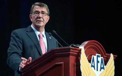 Bộ trưởng Quốc phòng Ashton Carter phát biểu về tình hình Biển Đông hiện nay tại Hiệp hội không quân Mỹ