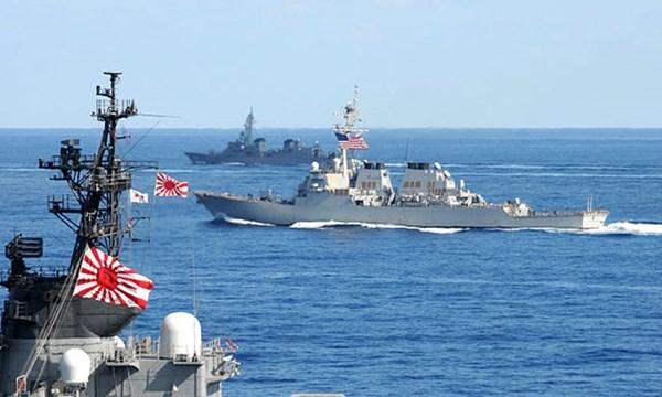 Hiện Trung Quốc đang phản ứng dữ dội sau khi Nhật Bản tuyên bố đang cân nhắc tuần tra Biển Đông