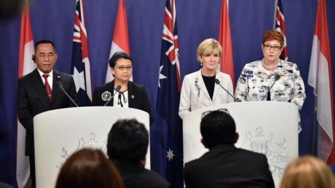 Indonesia và Australia kêu gọi ngừng các hoạt động khiêu khích khiến tình hình Biển Đông thêm căng thẳng