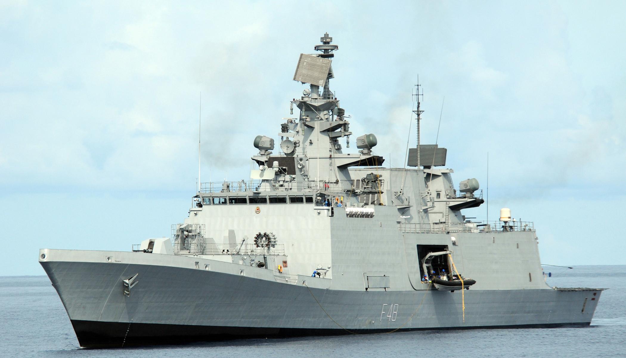 Động thái này của Ấn Độ được cho là nhằm ủng hộ các nỗ lực bảo đảm tự do hàng hải ở Biển Đông