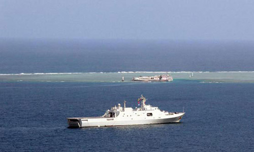 Cuộc tập trận 10 ngày của Trung Quốc ở Biển Đông có hàng trăm quân tham gia