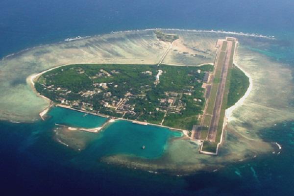 Đảo Phú Lâm thuộc quần đảo Hoàng Sa của Biển Đông Việt Nam