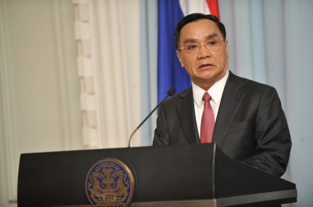 Thủ tướng Lào Thongsing Thammavong đã có những phát biểu cứng rắn về tình hình Biển Đông hiện nay