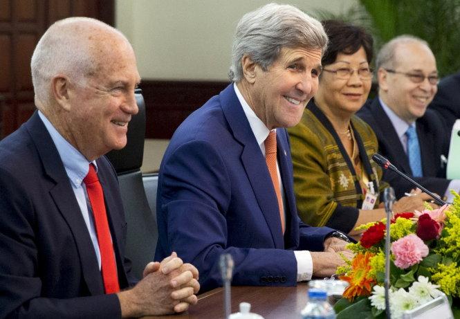 Chuyến công du châu Á của Ngoại trưởng Mỹ John Kerry được cho là nhằm tạo áp lực lên Trung Quốc về tình hình Biển Đông