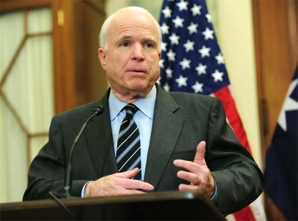 Thượng nghị sĩ Mỹ John McCain đã có nhiều phát biểu sắc bén về chính sách của Washington với tình hình Biển Đông hiện nay