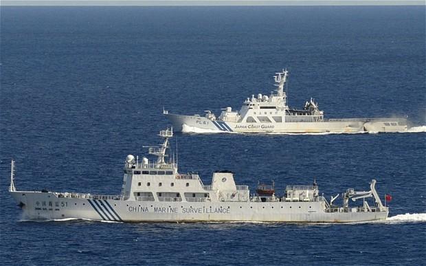 Tàu vũ trang Trung Quốc lại đến gần đảo tranh chấp với Nhật Bản trên biển Hoa Đông