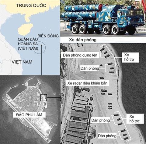 Những động thái khiêu khích gần đây của Trung Quốc đã khiến tình hình Biển Đông ngày càng căng thẳng