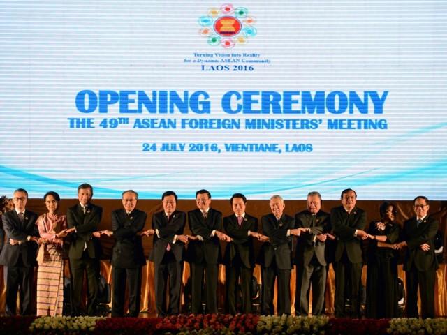 Hôm 25/7, ASEAN đã ra tuyên bố chung thể hiện sự quan ngại về tình hình Biển Đông hiện nay