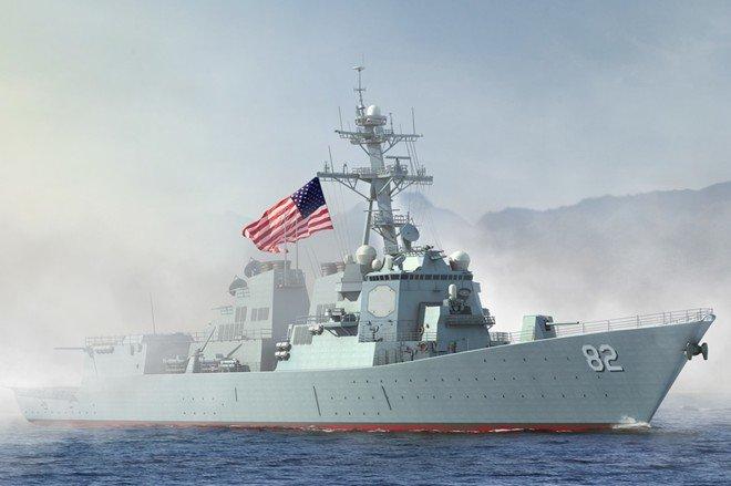 Tàu khu trục USS Lassen của Hải quân Mỹ được cho là đã chính thức tuần tra Biển Đông vào sáng nay 27/10