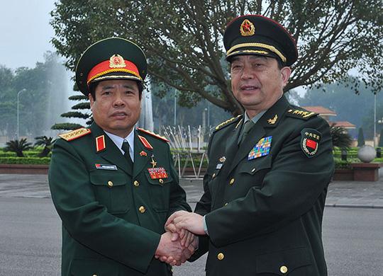 Tình hình Biển Đông là một trong những nội dung chính trong cuộc hội đàm giữa hai Bộ trưởng Quốc phòng Việt Nam – Trung Quốc
