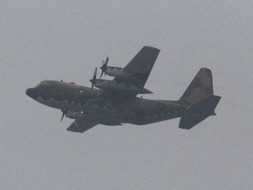Máy bay C-130 chở ông Mã Anh Cửu ra đảo Ba Bình thuộc quần đảo Trường Sa của Biển Đông Việt Nam