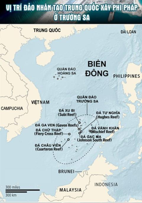 Đáp lại việc Mỹ tuần tra Biển Đông, Trung Quốc tuyên bố sẽ thực hiện mọi biện pháp để 'duy trì an ninh quốc gia'
