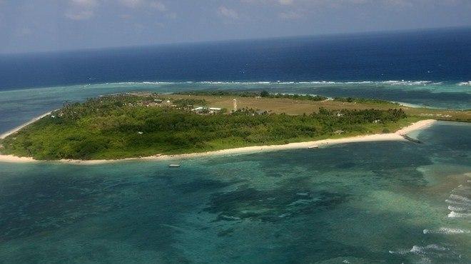 Đảo Ba Bình thuộc quần đảo Trường Sa của Biển Đông Việt Nam