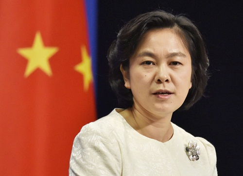 Người phát ngôn Bộ Ngoại giao Trung Quốc Hoa Xuân Oánh đã có nhiều tuyên bố đầy khiêu khích về tình hình Biển Đông hiện nay