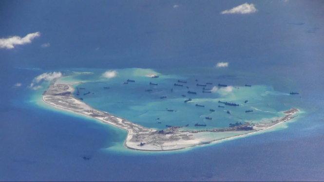 Hoạt động xây đảo nhân tạo trái phép của Trung Quốc khiến nhiều nước quan ngại về tình hình Biển Đông trong thời gian tới