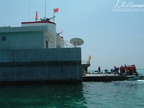 Tình hình Biển Đông ngày 18/10: Công trình nhà nổi quân sự kiên cố Trung Quốc xây dựng bất hợp pháp tại Gạc Ma