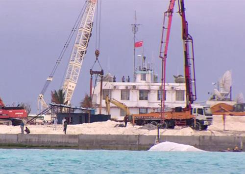 tình hình Biển Đông ngày 22/10: Trung Quốc xây dựng cầu cảng trái phép ở Gạc Ma
