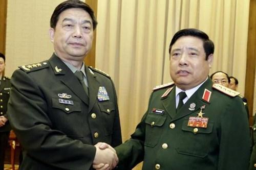 Tướng Thanh đề cập nhiều đến tình hình Biển Đông hiện nay trong chuyến công tác tại Trung Quốc vừa qua