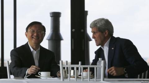 Mỹ - Trung bàn về Biển Đông nhằm thúc đẩy quan hệ nước lớn