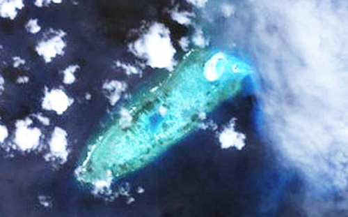 tình hình Biển Đông ngày 24/10: Đá Chữ Thập thuộc quần đảo Trường Sa của Việt Nam