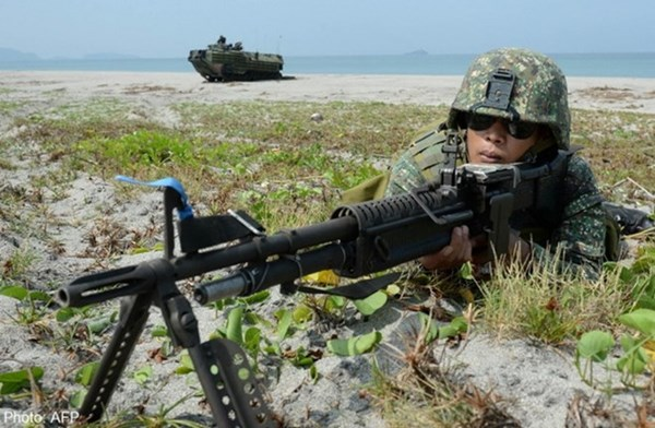 Lần đầu tiên Philippines diễn tập cùng hải quân Nhật, Mỹ trên biển Đông