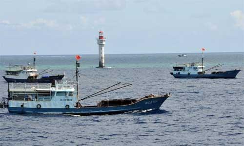Tàu cá Trung Quốc ngang nhiên xâm phạm, đánh bắt trái phép trên Biển Đông Việt Nam