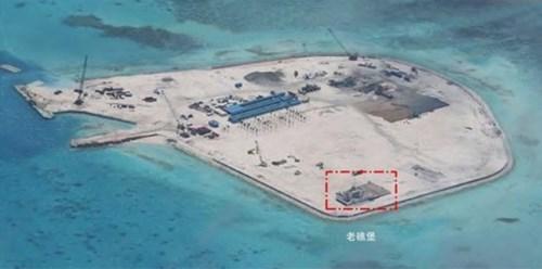 Trung Quốc tăng cường hoạt động xây dựng trái phép trên biển Đông