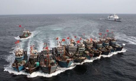 Có thời điểm số tàu cá Trung Quốc trên biển Đông lên tới hơn 4 vạn