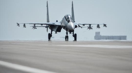 Một chiếc Su-30 SM của Nga ở Syria