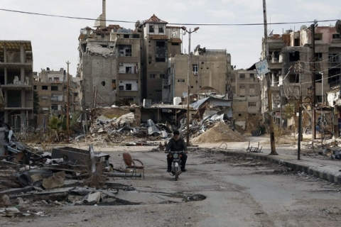 Quân chính phủ Syria đã tiến sâu trong vùng ngoại ô của thủ đô Damascus, theo tình hình chiến sự Syria mới cập nhật