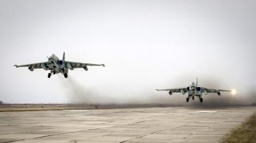 Máy bay Nga tại Syria